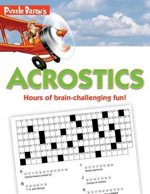 Puzzle Baron's Acrostics By Ryder, Stephen P.